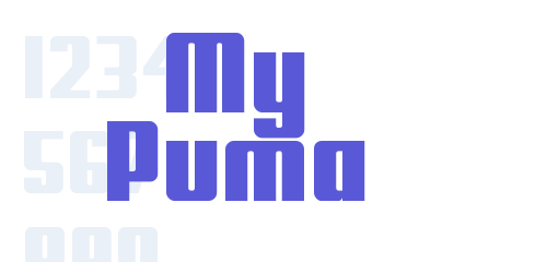 my puma font free download now fontsfree net