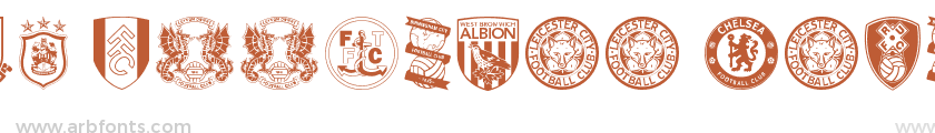 English Football Club Badges