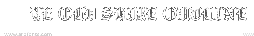 Ye Old Shire Outline